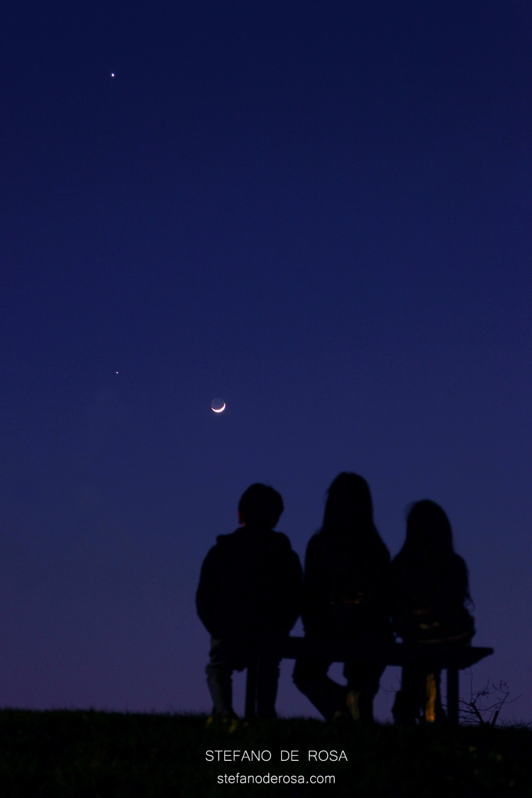 Moon, Jupiter and Venus_March 25 2012