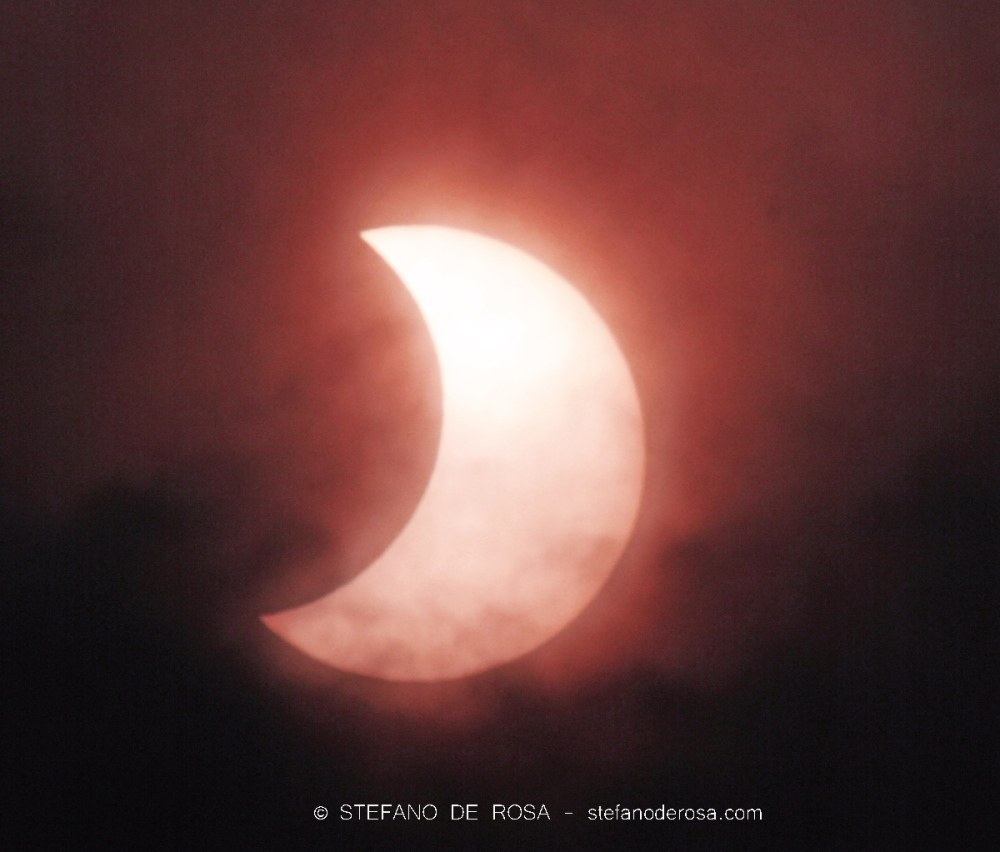 Partial Solar Eclipse - Stefano De Rosa -2