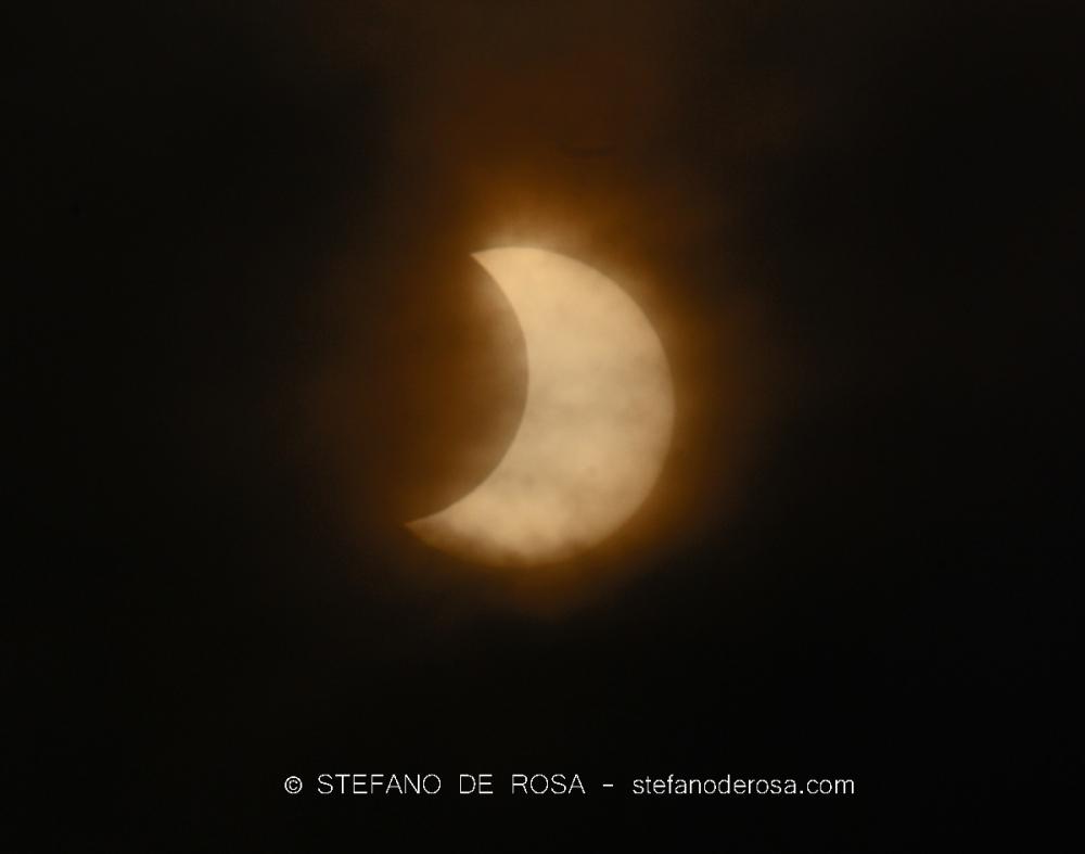 Partial Solar Eclipse - Stefano De Rosa -3