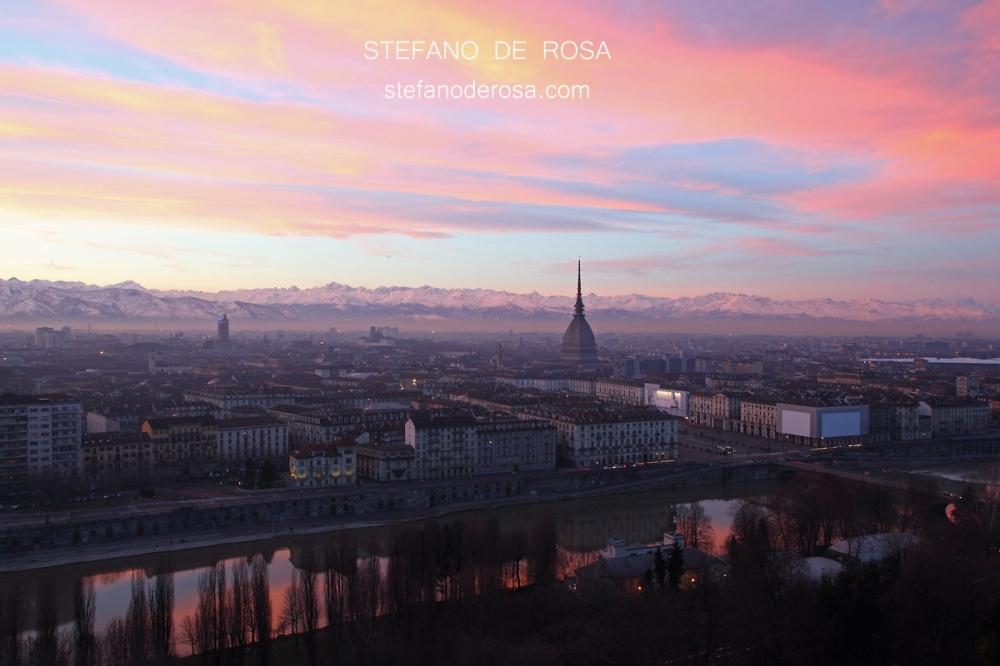 Turin @ sunset