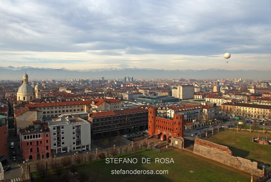Santuario della Consolata, Porte Palatine e Turin Eye