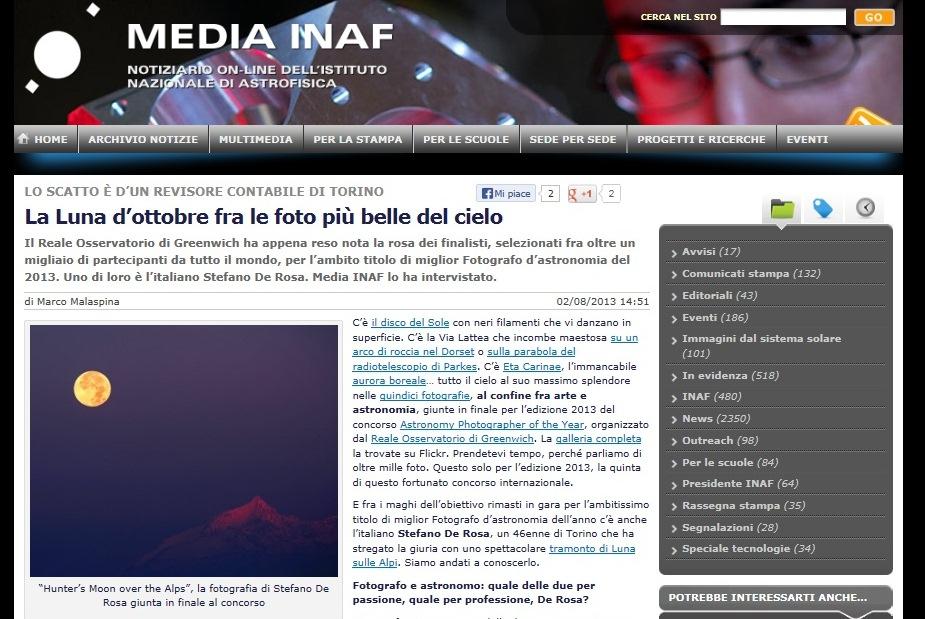 Intervista INAF