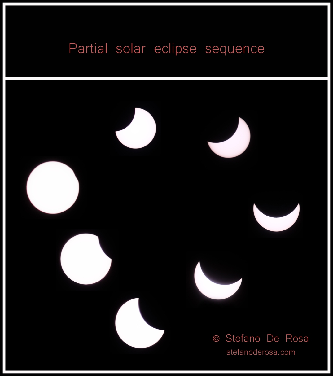 Partial eclipse sequence