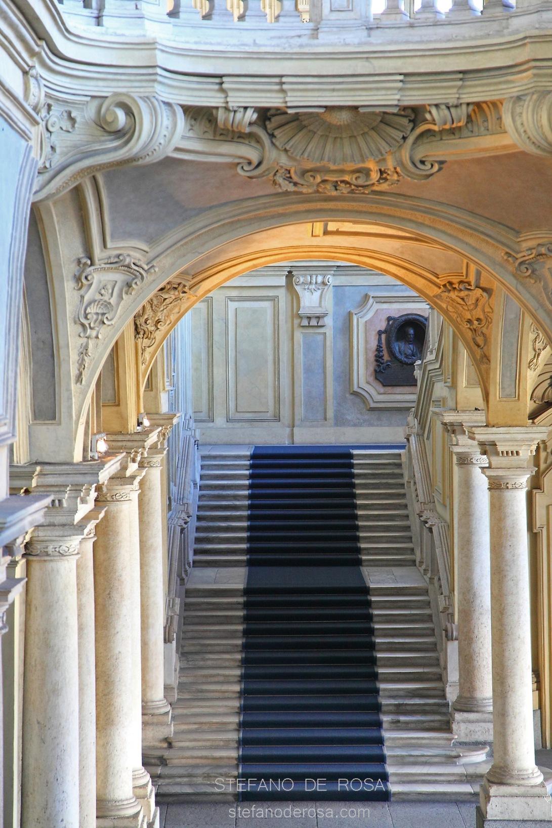 Scalone d'onore Palazzo Madama (Juvarra)
