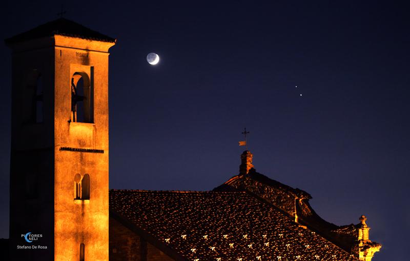 Moon-Jupiter-Saturn-San Vito
